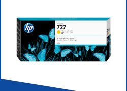 HP Yellow Ink Cartridge B3P21A for DesignJet T920,T1500, T2500